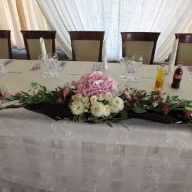 Сватбена аранжировка за маса
