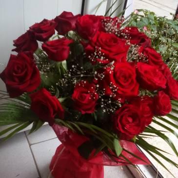 Букет от  27 рози