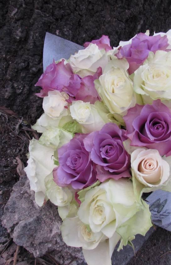 Рози в текстил